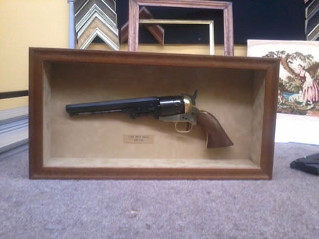 colt 45 shadow box