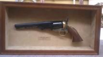Colt Revolver Shadow Box