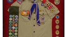 Boy Scout Shadow Box