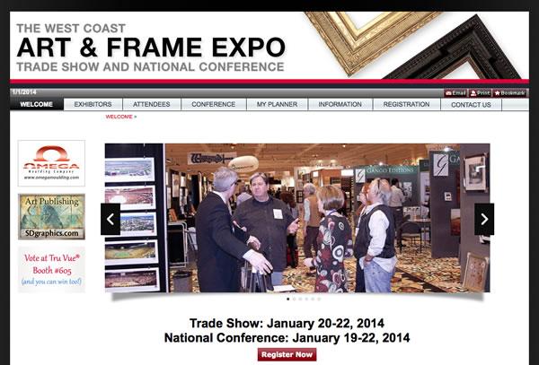 2014 Art & Frame Expo Las Vegas